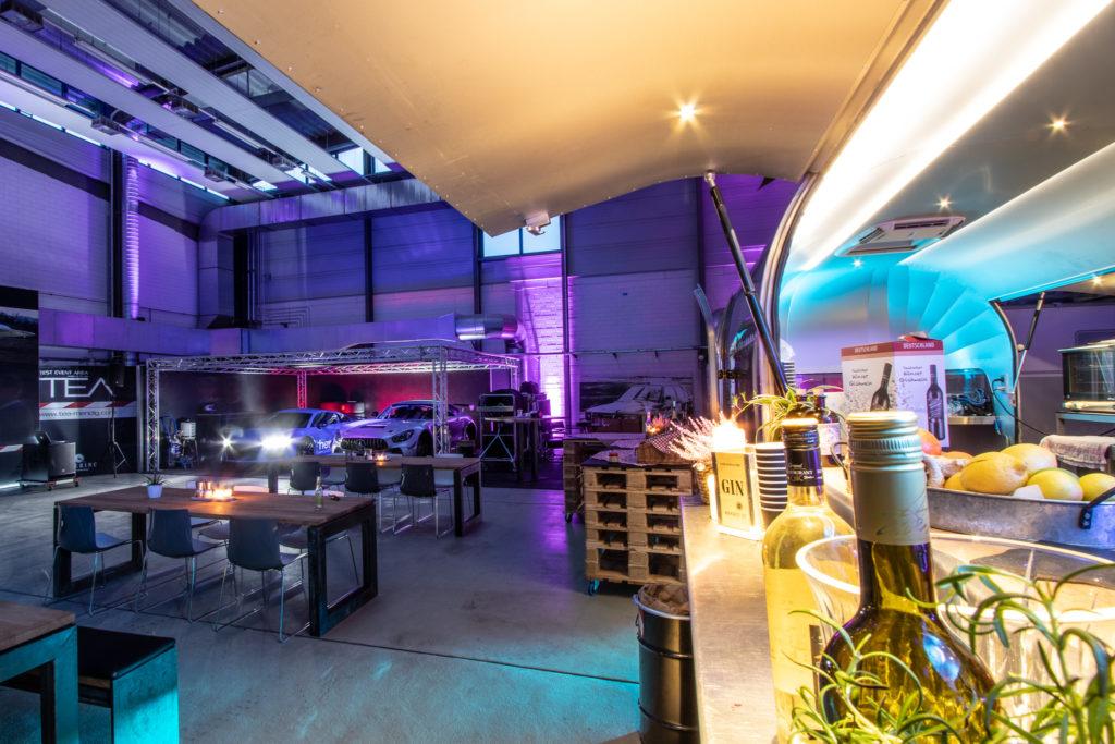 Foodtruck Airstream Design und Eventlocation