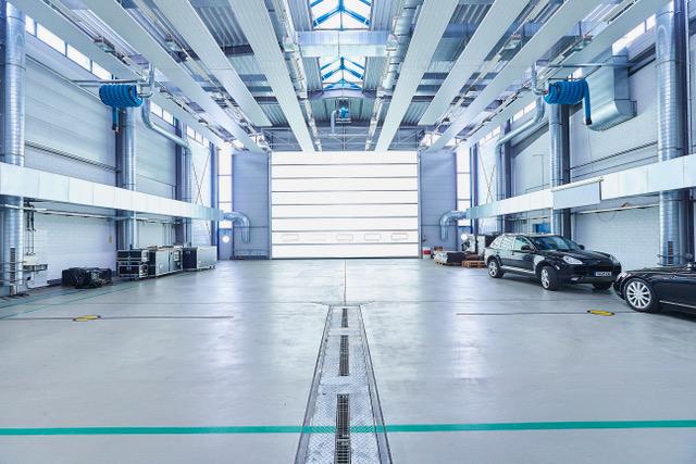 Hangar Zero - Eventlocation ohne Einrichtung